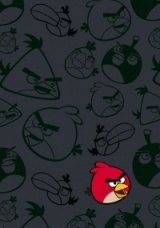 Muistikirja / ANGRY BIRDS red bird small (6020772)