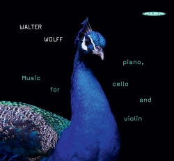 Wolff, Walter: Music for piano, cello and violin - Kansikuva