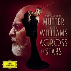 Williams, John: Across the stars - Kansikuva