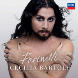 Bartoli, Cecilia: Farinelli - Kansikuva