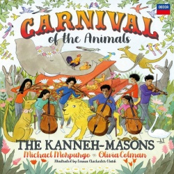 Kansikuva Kanneh-Masons: Carnival of the animals