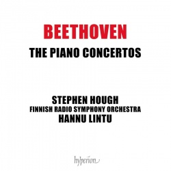 Beethoven the piano consertos -kansikuva