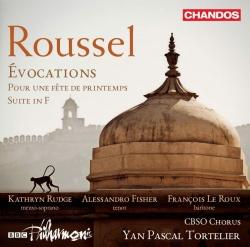 Roussel, Albert: Suite in F ; Pour une fête de printemps ; Évocations - Kansikuva