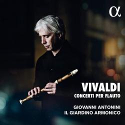 Kansikuva Vivaldi, Antonio: Concerti per flauto