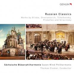 Sächsische Bläserphilharmonie: Russian classics - Kansikuva