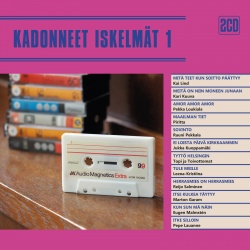 Kadonneet iskelmät : harvinaisia levytyksiä 1970- ja 1980-luvuilta - Kansikuva