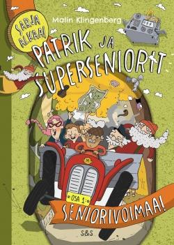 Patrik ja superseniorit: teoksen kansikuva