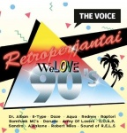 VOICE-WE LOVE 90'S - ERI ESITTÄJIÄ (CD)