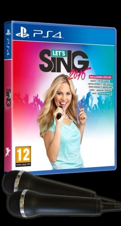 Let's Sing 2016 (sis. 2 mikrofonia) (PS4)