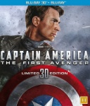 CAPTAIN AMERICA - FIRST AVENGER (3D BLU-RAY)