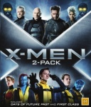 X-MEN 2-PACK - FIRST CLASS & DAYS OF FUTURE P (BLU-RAY)