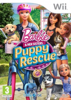 Barbie and Her Sisters Puppy Rescue (Wii)