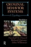 Criminal Behavior Systems - A Typology