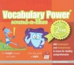 Vocabulary Power Sound-A-Likes