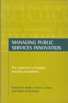 Managing public services innovation - The experience of English housing associations