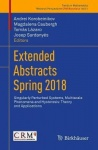 Extended Abstracts Spring 2018 - Singularly Perturbed Systems, Multiscale Phenomena and Hysteresis: Theory and Applications