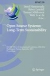 Open Source Systems: Long-Term Sustainability - 8th IFIP WG 2.13 International Conference, OSS 2012, Hammamet, Tunisia, Septembe
