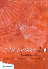In piazza 2 Italian tekstikirjan CD