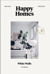 Happy homes : white walls